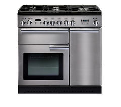 Professional+ 90 Gas Range Cooker - Stainless Steel & Chrome