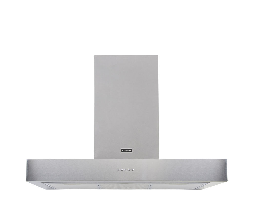 STOVES ST 900 Sterling 444442854 Cooker Hood - Stainless Steel