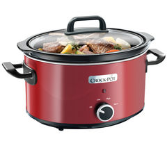 CROCK-POT SCV400RD Slow Cooker - Red Best Price, Cheapest Prices