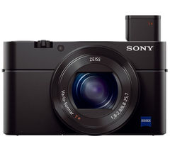 SONY Cyber-shot DSC-RX100 III High Performance Compact Camera - Black