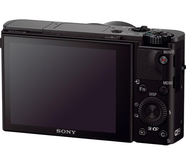 buy sony cyber shot dsc rx100 iii high performance compact camera black shcomp13 hard shell. Black Bedroom Furniture Sets. Home Design Ideas