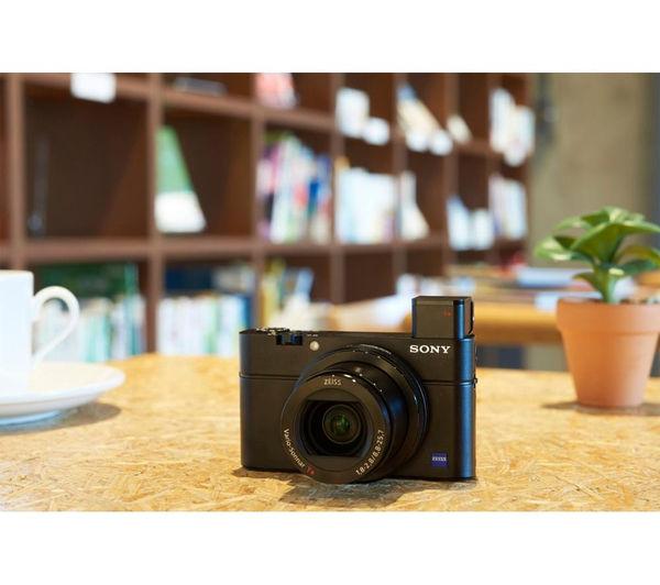 SONY Cyber-shot DSC-RX100 III High Performance Compact Camera - Black