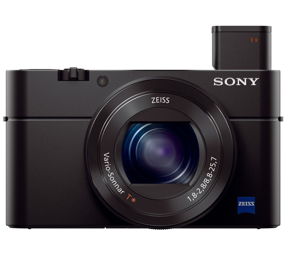 SONY Cyber-shot DSC-RX100 III High Performance Compact Camera - Black + SHCOMP13 Hard Shell Camera Case - Black