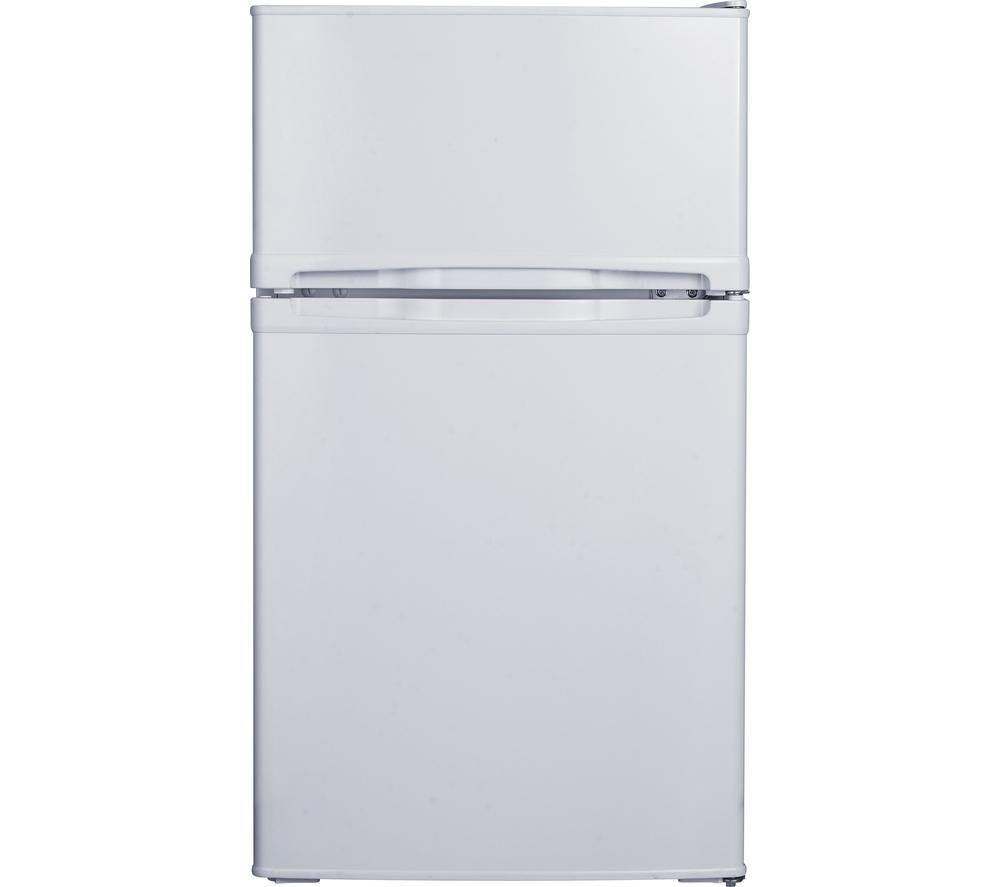 ESSENTIALS CUC50W15 70/30 Fridge Freezer - White + Select DSX83410W Heat Pump Tumble Dryer - White