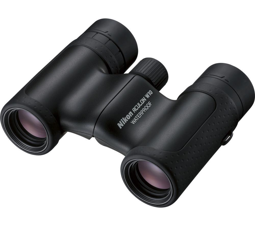 NIKON Aculon W10 10 x 21 mm Binoculars - Black
