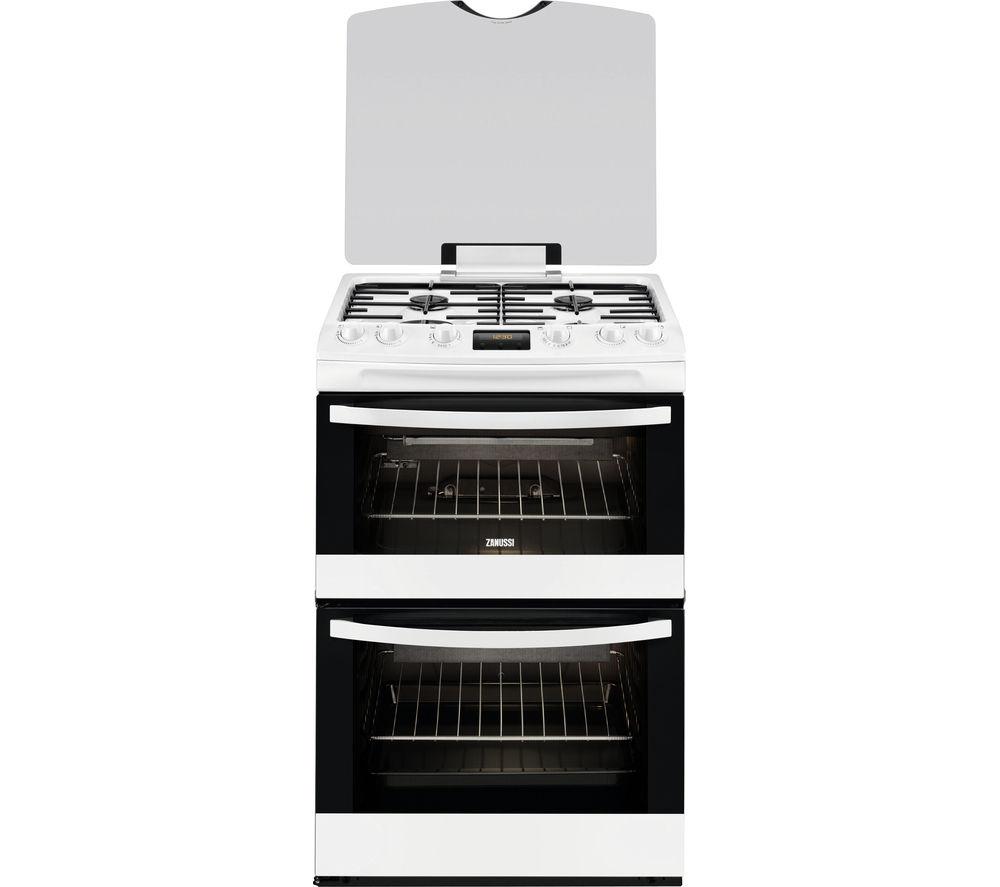 Compare prices for Zanussi ZCG63330WA 60cm Gas Cooker
