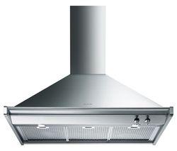 SMEG Opera KD90XE Chimney Cooker Hood - Stainless Steel
