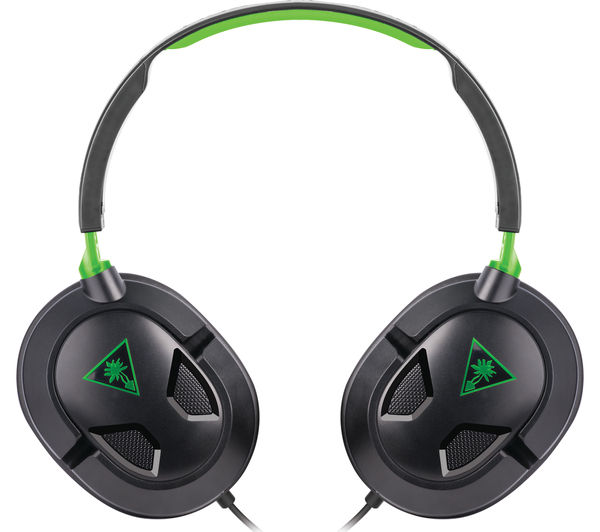 Turtle Beach Ear Force Recon 50x 2 0 Gaming Headset Black Green