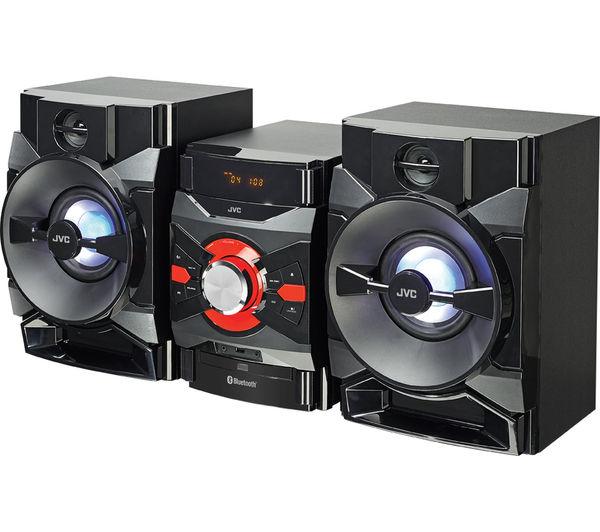 buy jvc mx dn550 megasound hi fi system black free