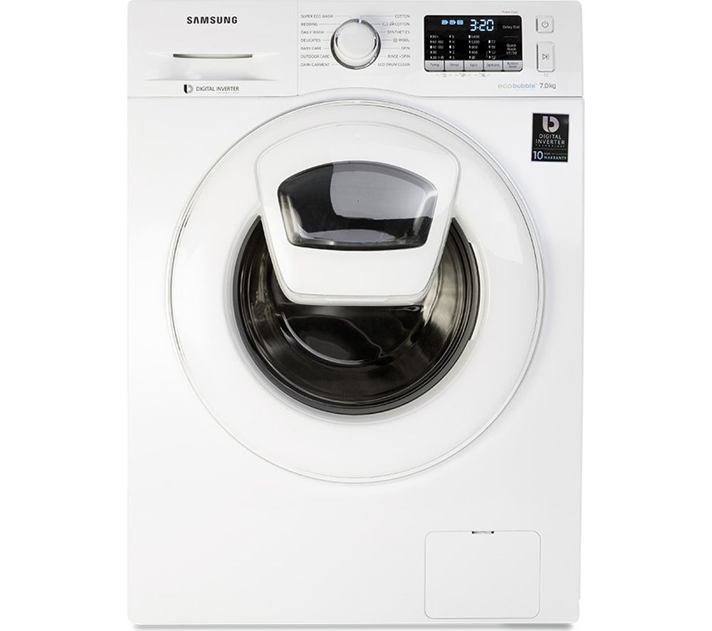 SAMSUNG AddWash WW70K5410WW/EU Washing Machine - White