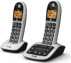 4600 Cordless Phone with Answering Machine - Twin Handsets