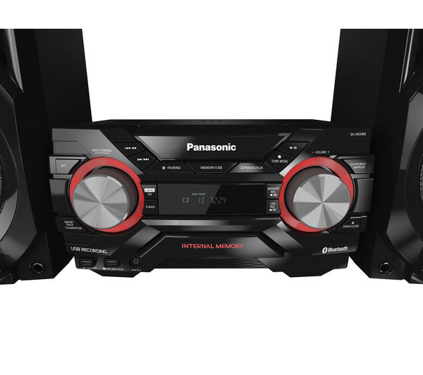 Buy PANASONIC SC-AKX400EBK Wireless Megasound Hi-Fi System ... on