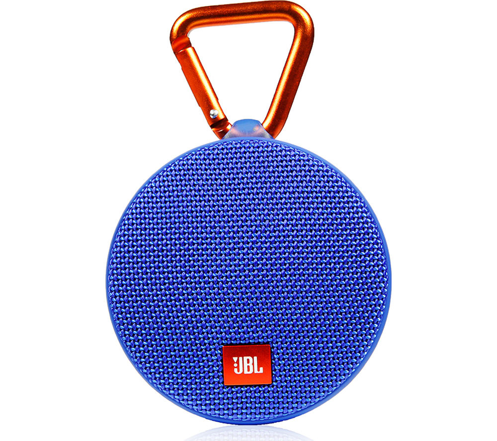 JBL Clip 2 Portable Bluetooth Wireless Speaker - Blue