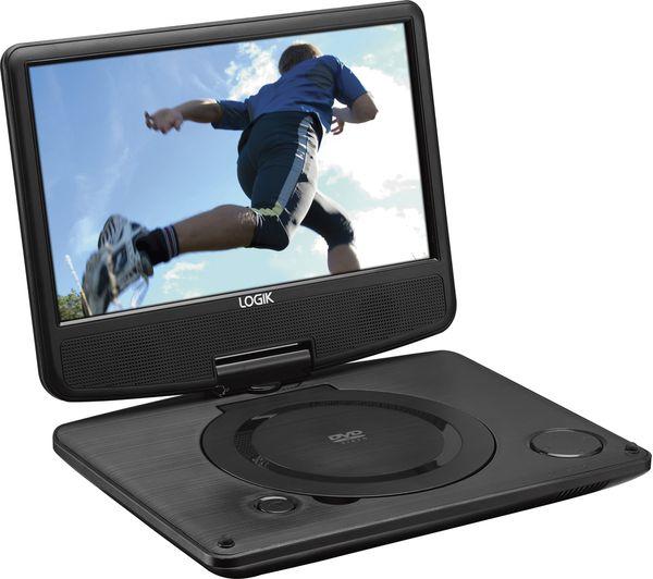 Image of LOGIK L9SPDVD16 Portable DVD Player - Black