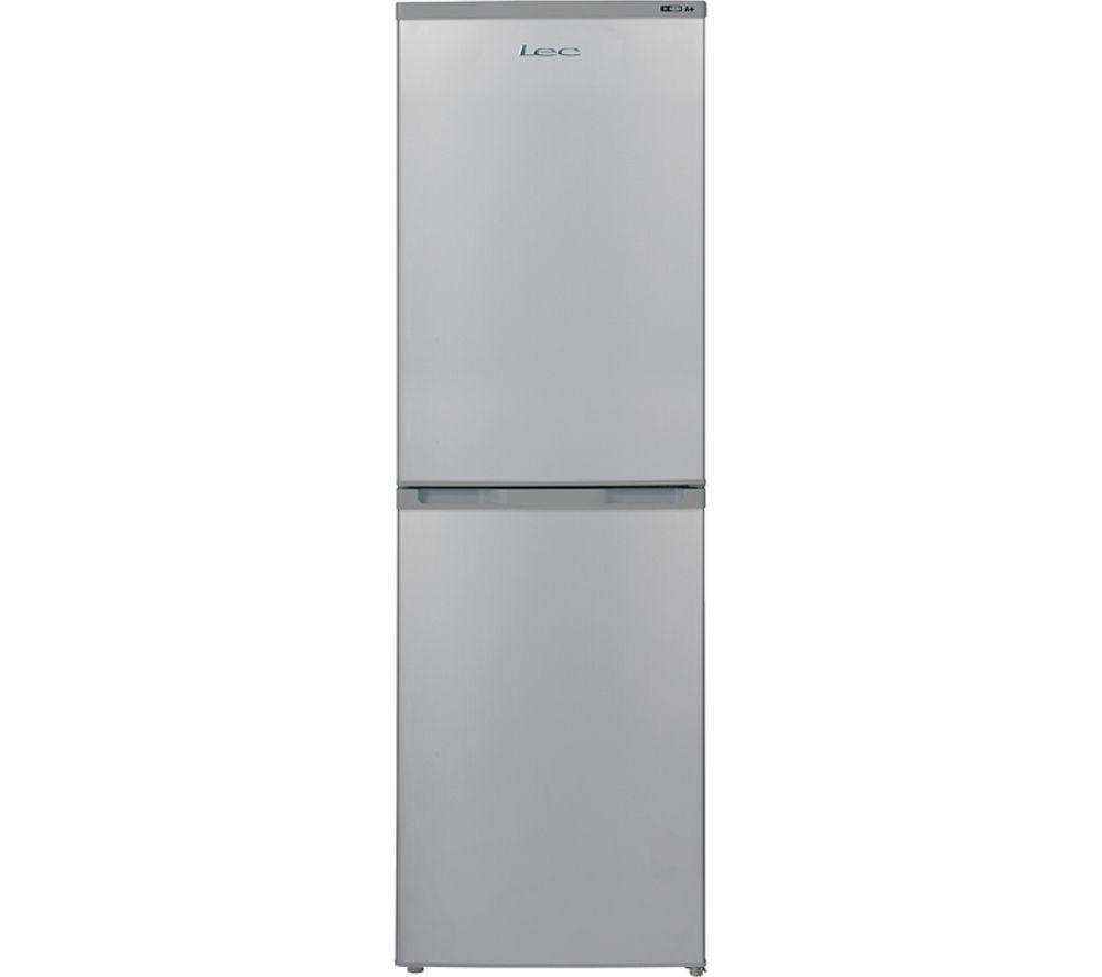 LEC TF5517S 50/50 Fridge Freezer - Silver