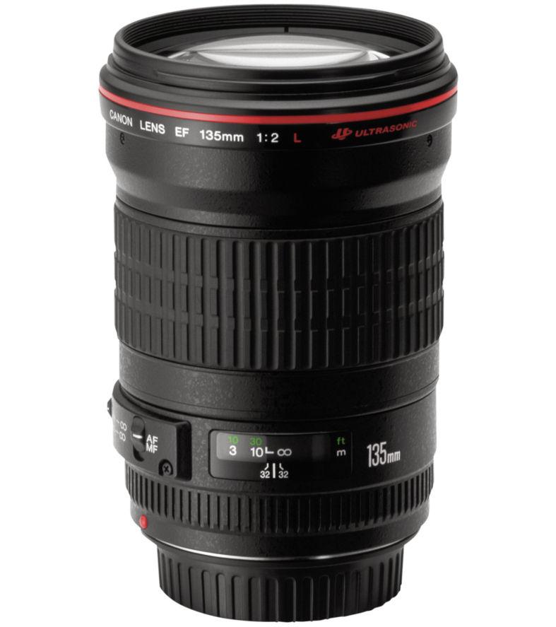 Canon EF 135 mm f/2.0 L USM Telephoto Prime Lens