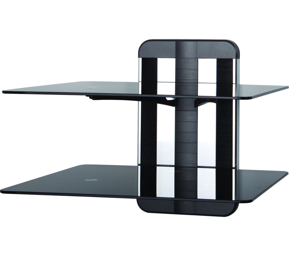 AVF Anywall ZMS1200 Shelves - Black, Black