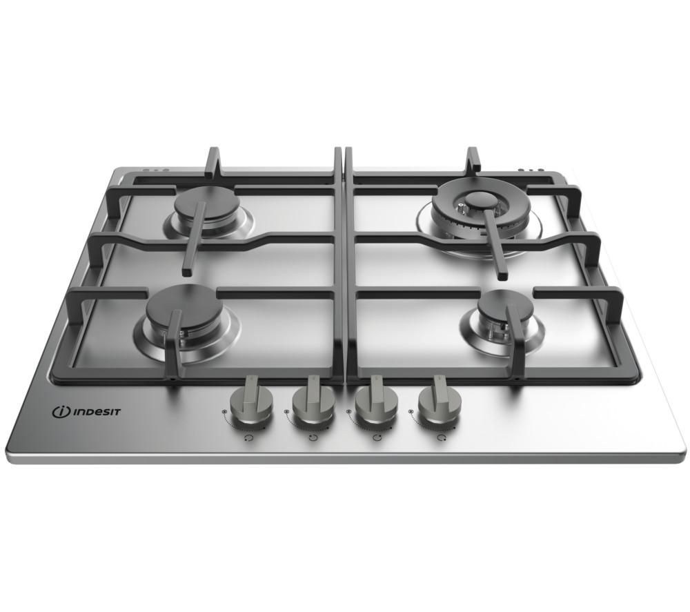 Compare prices for Indesit Aria THP 641 W-IX-I Gas Hob