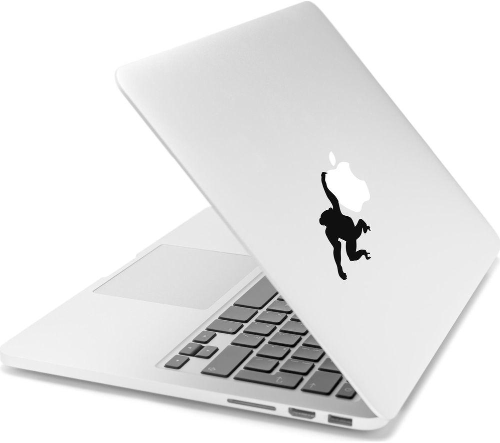 """CASEIT CSMA13DLMON 13"""" MacBook Hanging Monkey Decal"""