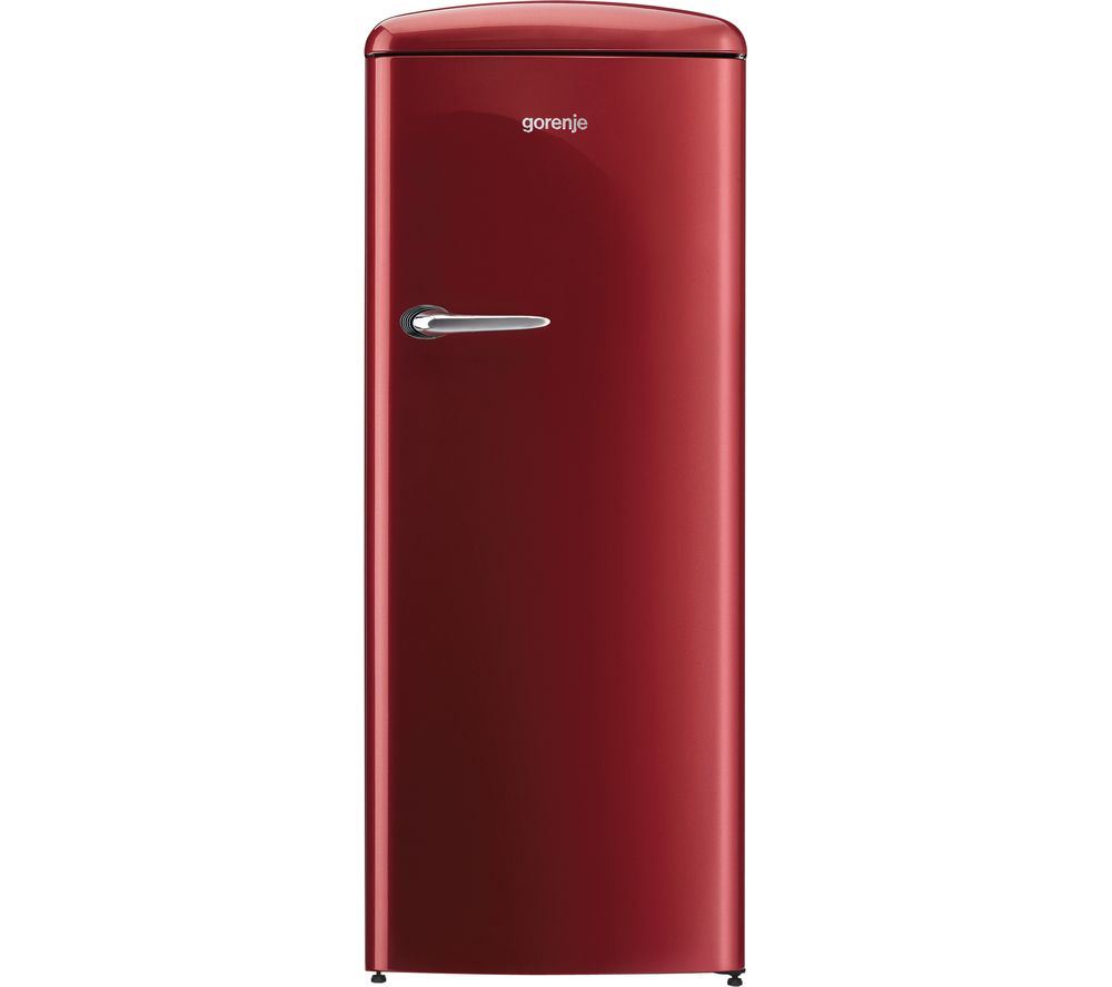 GORENJE ORB153R Tall Fridge - Burgundy