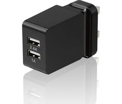 GOJI G34AMD17 Universal Dual USB Charger