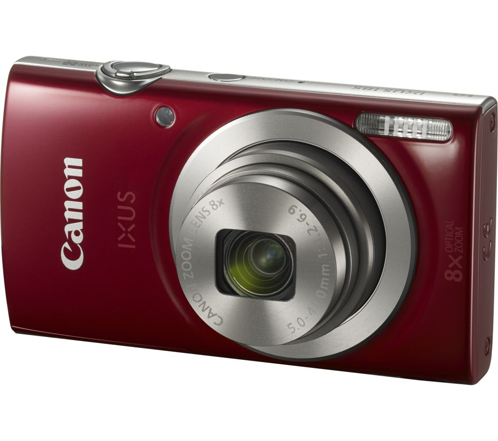 Canon Ixus 185 Compact Camera Red Red