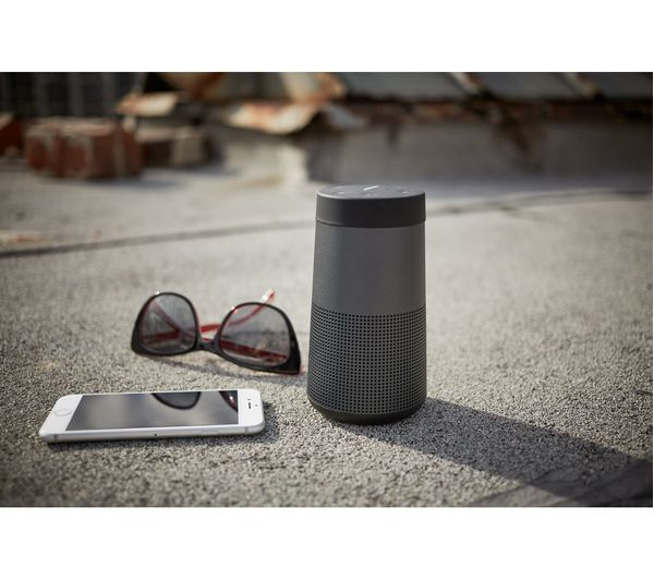 buy bose soundlink revolve portable bluetooth wireless speaker black free delivery currys. Black Bedroom Furniture Sets. Home Design Ideas
