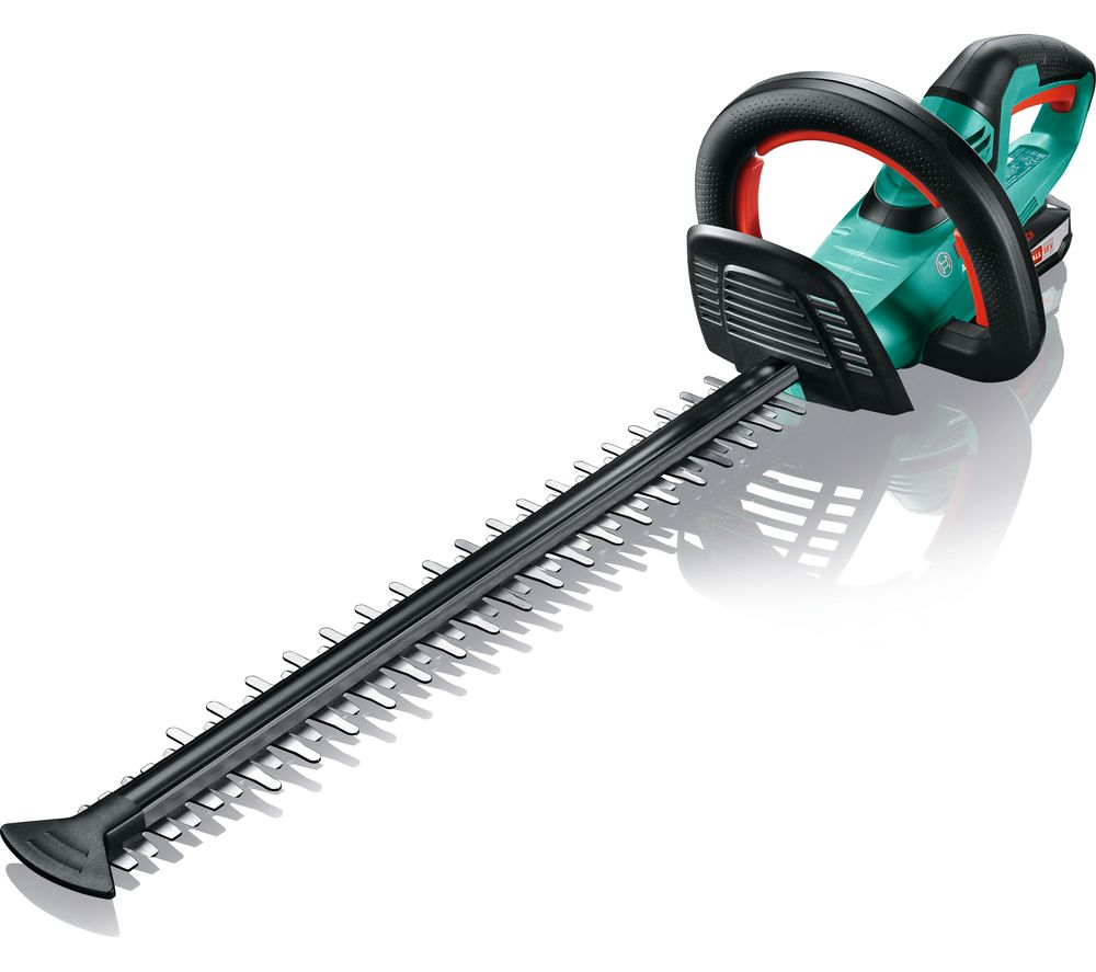 Image of BOSCH AHS 50-20 LI Cordless Hedge Trimmer - Green, Green