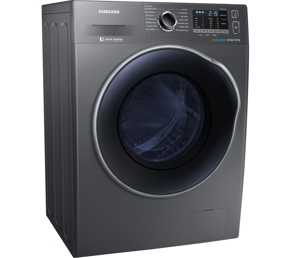 Compare prices for Samsung ecobubble WD80J5410AX-EU 8kg Washer Dryer