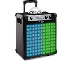 ION Party Rocker Max Portable Bluetooth Wireless Speaker - Black