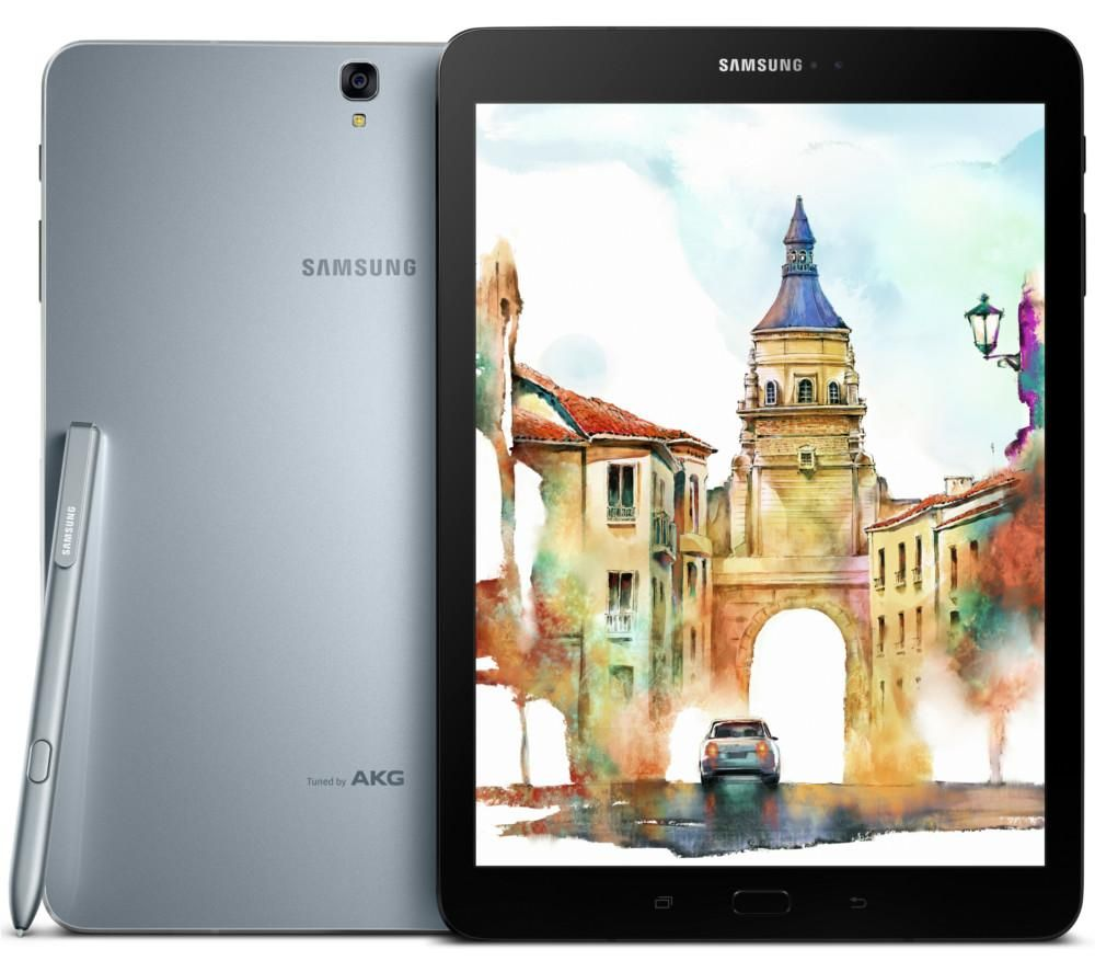 "Galaxy Tab S3 9.7"" Tablet & S Pen - 32 GB, Silver"