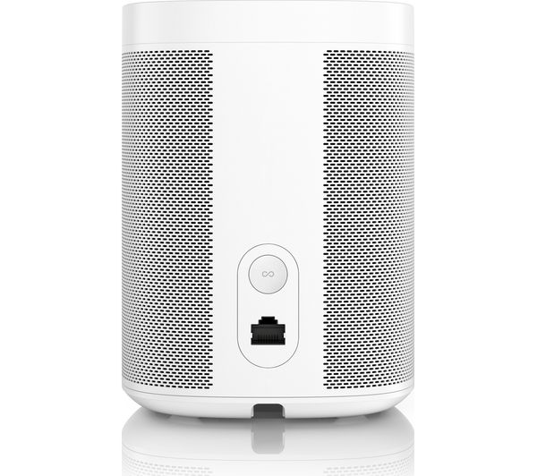 buy sonos one wireless smart sound speaker white free delivery currys. Black Bedroom Furniture Sets. Home Design Ideas
