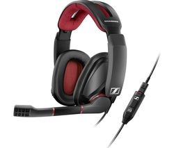 SENNHEISER GSP 350 7.1 Gaming Headset - Black & Red