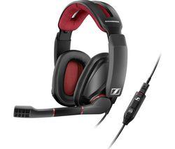 SENNHEISER GSP 350 7.1 Gaming Headset - Black & Red