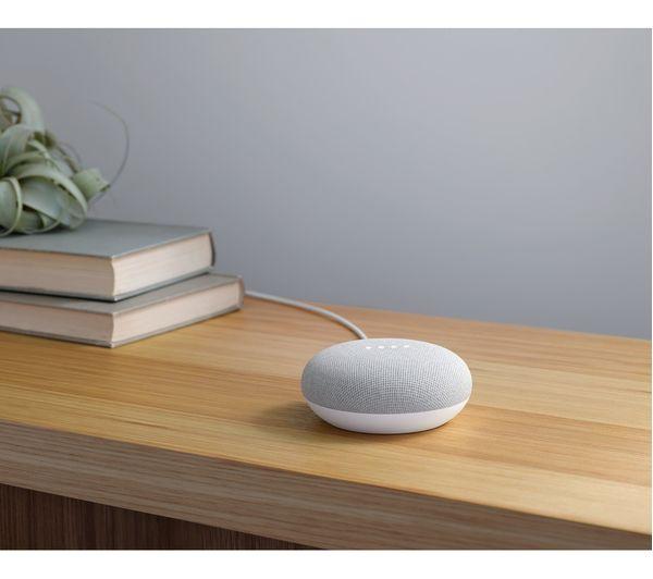 NEST Cam IQ Indoor Security Camera & Home Mini Bundle