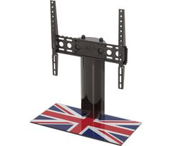 AVF B400UK 550 mm TV Stand with Bracket - Union Jack