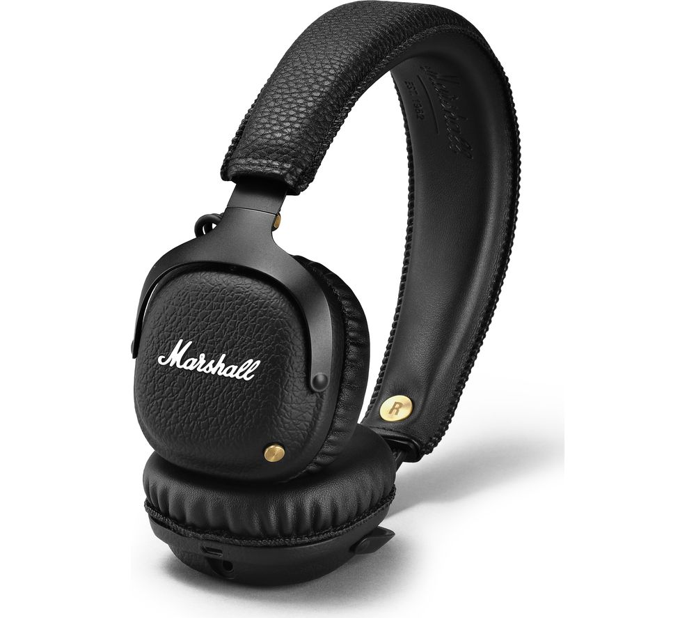 Cheapest price of Marshall Mid Wireless Bluetooth Headphones - Black in new is £165.99