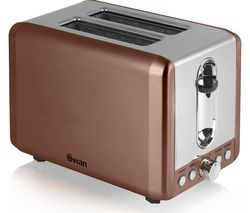 SWAN ST14040COPN 2-Slice Toaster - Copper
