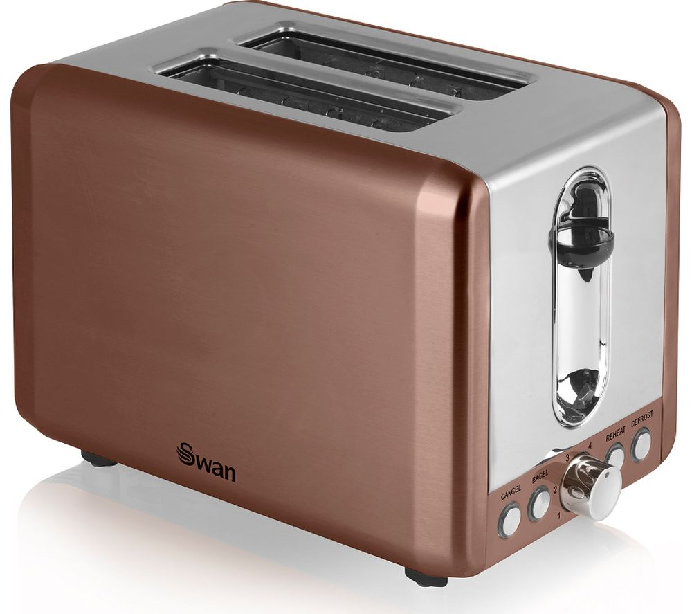Two Small Appliances ~ Buy swan st copn slice toaster copper free