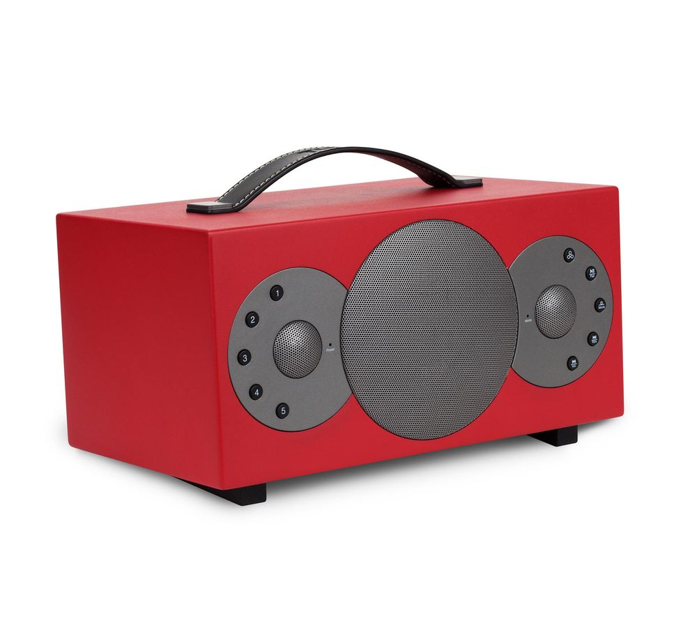 TIBO Sphere 2 Portable Wireless Smart Sound Speaker - Red