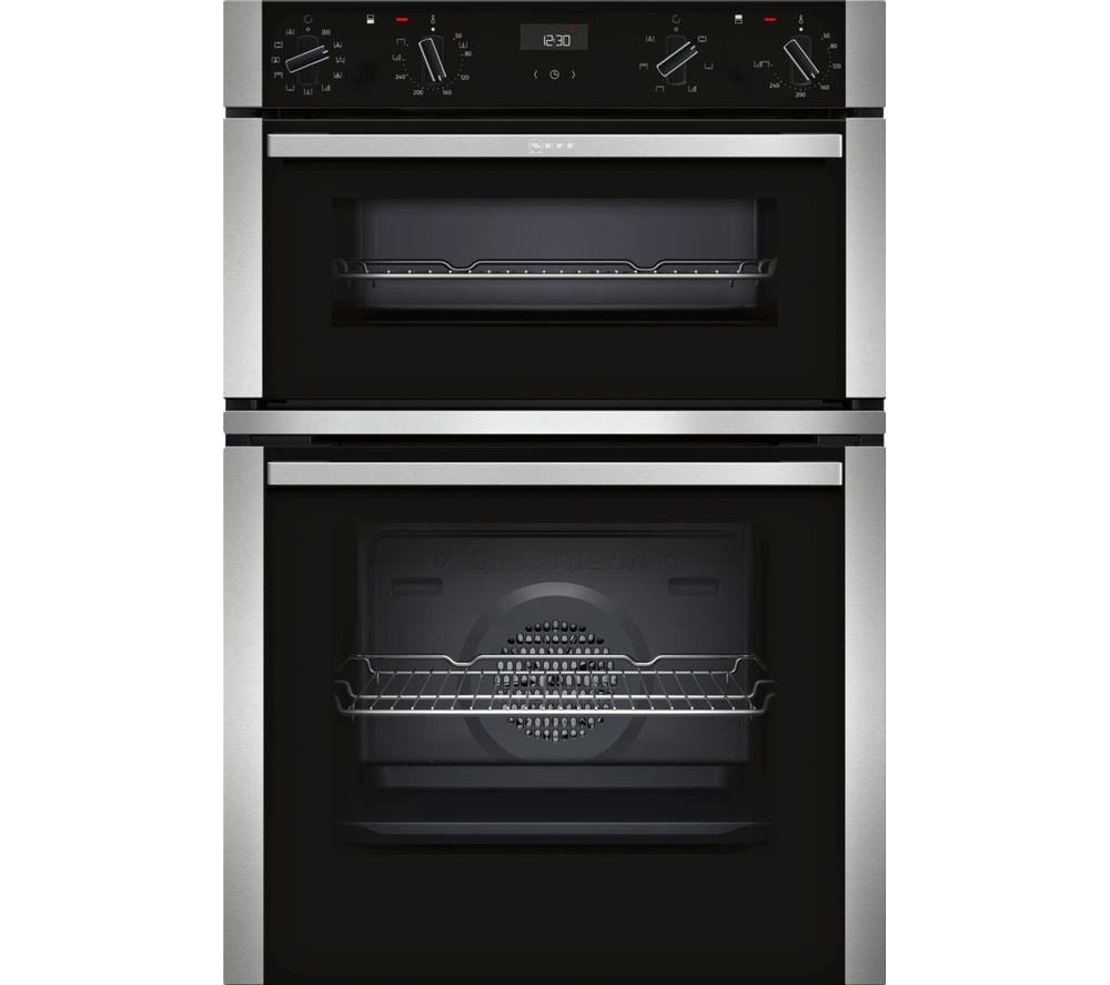 NEFF N50 U1ACE5HN0B Electric Double Oven - Stainless Steel