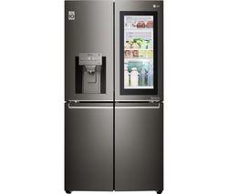 LG GMX936SBHV American-Style Smart Fridge Freezer - Black
