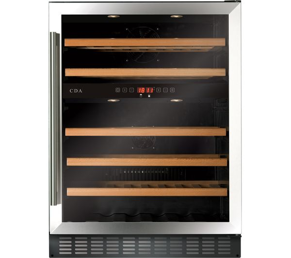 Image of CDA FWC604SS Wine Cooler - Stainless Steel