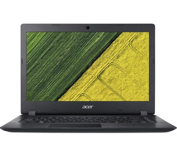 "Image of ACER Aspire 1 A114-31 14"" Intel® Celeron™ Laptop - 32 GB eMMC, Black"
