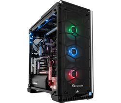 PC SPECIALIST Vortex Liquid Intel® Core™ i9 GTX 1080 Ti Gaming PC - 4 TB HDD & 512 GB SSD