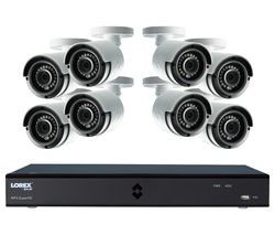 LOREX LHA42162TC8P 16-Channel Full HD 1080p Security System - 2 TB, 8 Cameras