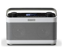 ROBERTS Stream 218W Portable DAB+/FM Smart Bluetooth Radio - White