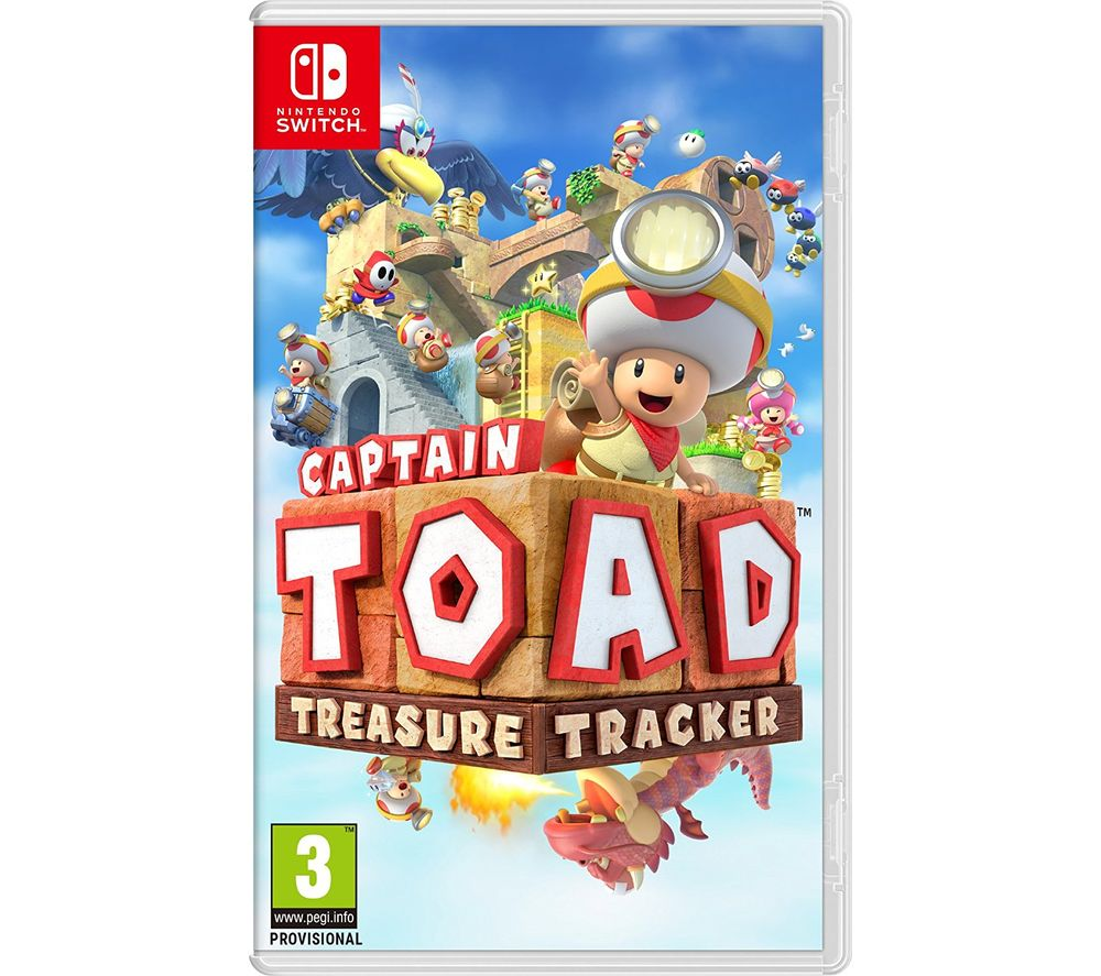 NINTENDO SWITCH Switch Captain Toad: Treasure Tracker