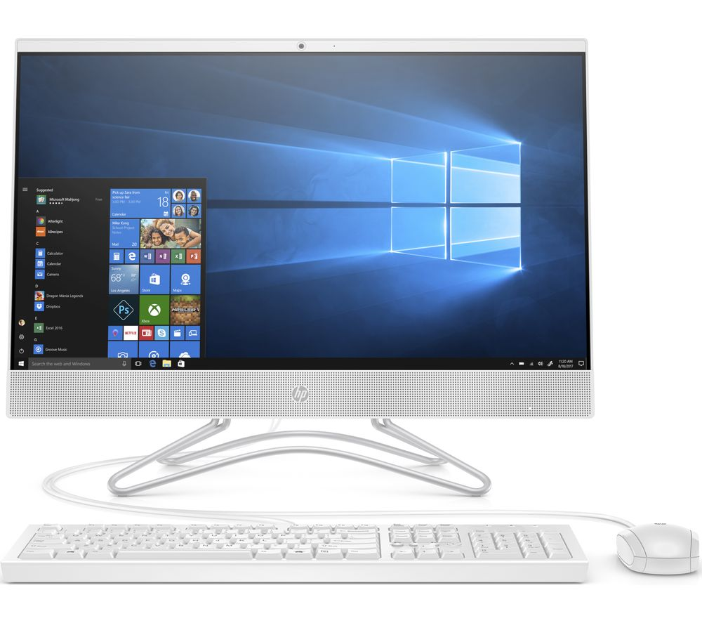 "HP 24-f0023na 23.8"" Intel® Core™ i5+ All-in-One PC - 1 TB HDD, White"