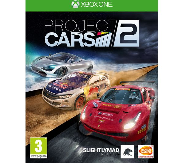 MICROSOFT Xbox One X, Forza Horizon 4, Forza Motorsport 7, Tekken 7 &  Project Cars 2 Bundle